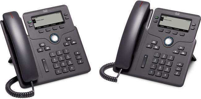 "The Cisco 6851 offers a budget-friendly, easy to use IP desk phone with multiplatform support for third-party hosted deployments. Featuring an attractive ergonomic design and Gigabit Ethernet connection as standard, the 6851 offers a reliable, secure device with a range of features including programmable line keys, tri-colour LEDs for waiting/incoming call indication and a 3.5"" greyscale display with white backlighting for easy reading."