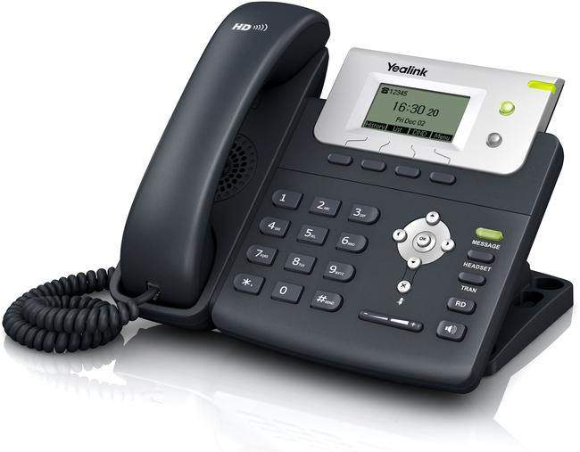 The Yealink T21PN is an entry-level IP phone, with a large 132 x 64 pixel graphical LCD display showing 5-lines of clear data which offers a smooth user experience.  The T21PN has dual 10/100 Mbps network ports with integrated PoE, ideal for extended network use. This phone is very cost-effective and powerful IP solution, which helps to maximise productivity in both small and large office environments.