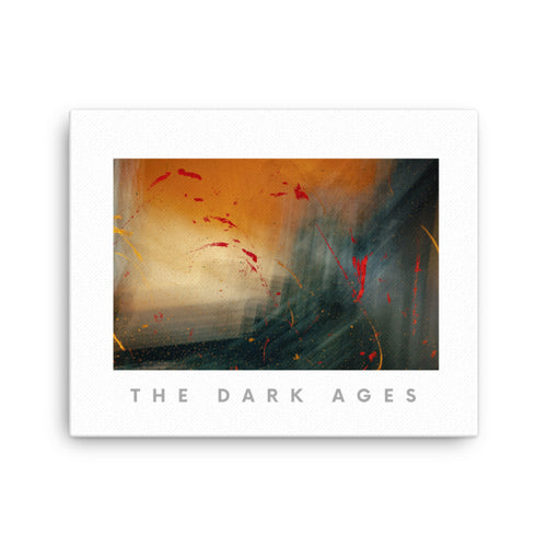 The Dark Ages Canvas Wall Art Print