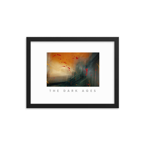 The Dark Ages Framed Poster