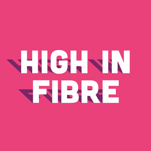 High in fibre