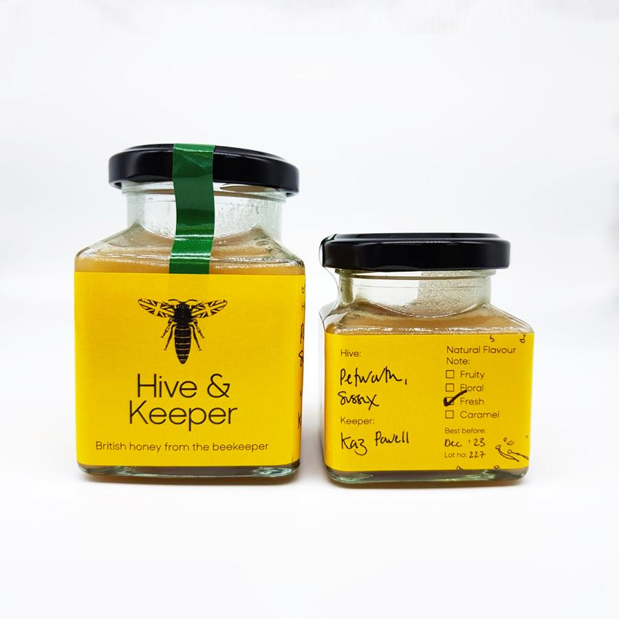 Raw Honey from Petworth, Sussex UK (fresh)-Hive & Keeper