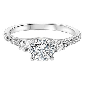 THREE STONE DIAMOND ENGAGEMENT RING RG58547