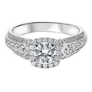 DIAMOND HALO ENGAGEMENT RING RG54779