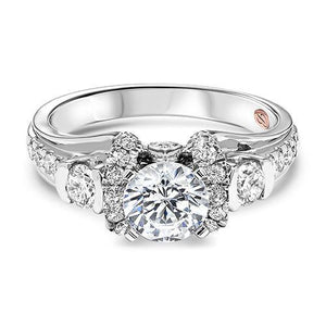 THREE STONE DIAMOND ENGAGEMENT RING RG58500