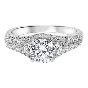 THREE STONE DIAMOND ENGAGEMENT RING RG58518