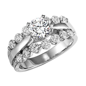 EXQUISITE COLLECTION: DIAMOND SOLITAIRE WEDDING SET WB5665E/W