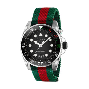 DIVE 45MM NYLON GREEN