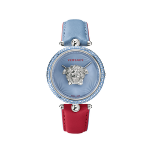 RED/BLUE PALAZZO EMPIRE WATCH