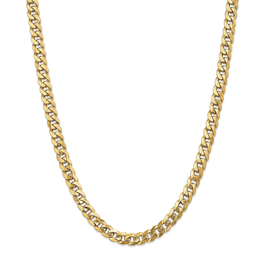 14KT GOLD CURB CHAIN
