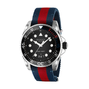 DIVE 45MM NYLON BLUE