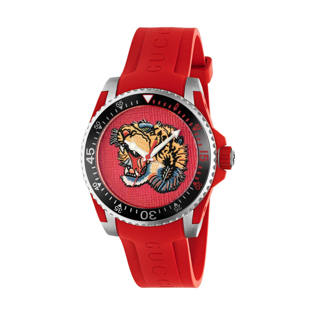 DIVE 40MM RUBBER RED TIGER