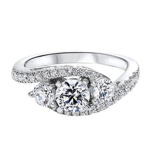 THREE STONE DIAMOND ENGAGEMENT RING RG54788