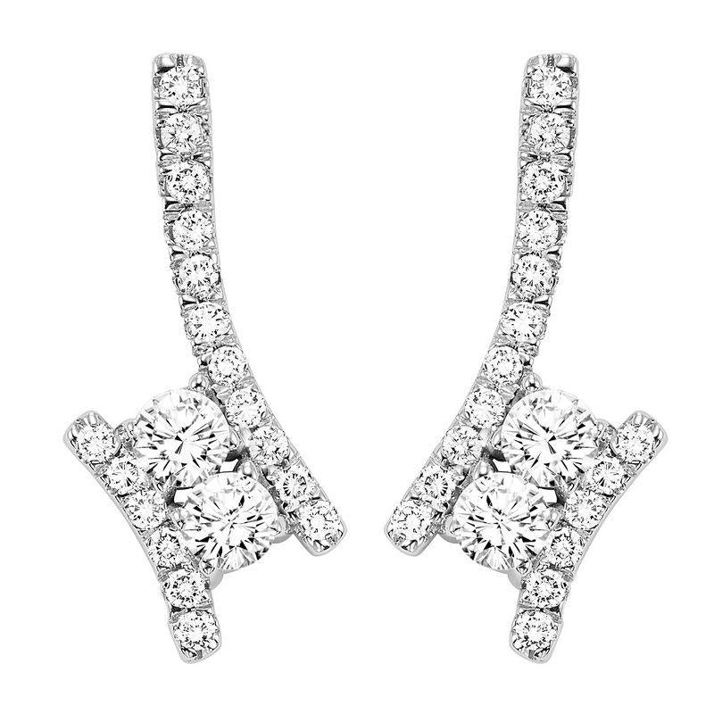 TWOGETHER DIAMOND EARRINGS TWO2001/50