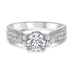 THREE STONE DIAMOND ENGAGEMENT RING RG58503