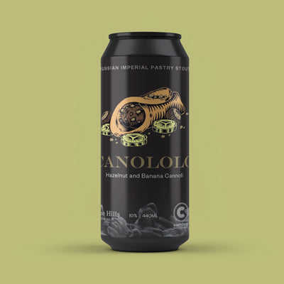 Canololo Imperial Stout with Hazelnut and Banana