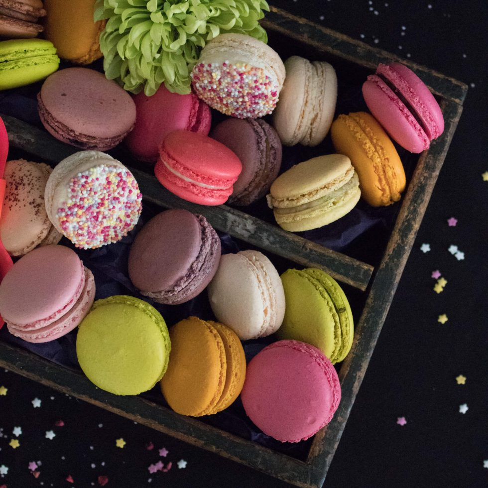 Macarons Box - 20 Macarons in your Choice of Flavours