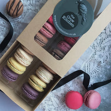 Load image into Gallery viewer, Macaron Box - 14 Assorted Flavours by Post