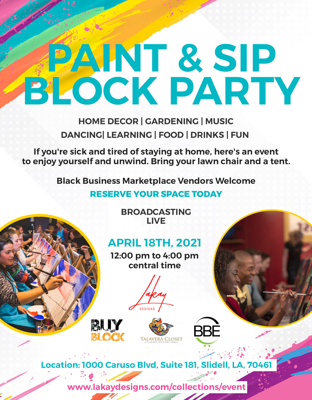 Lakay Designs Block Party - Guest