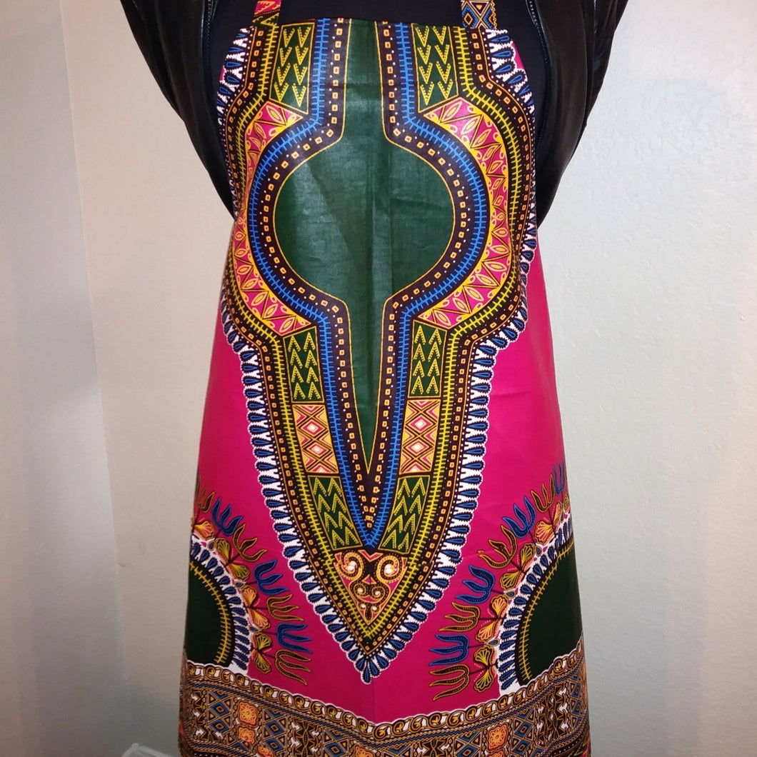 Fonds-des-Blancs Dashiki Apron
