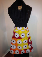 Load image into Gallery viewer, Thiotte African Print Half Bistro Apron with 2 Pockets