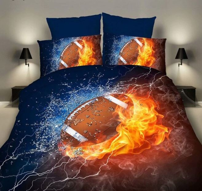 Football Eight Piece Comforter Set