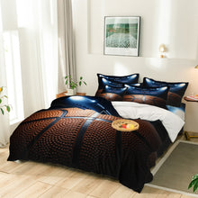 Load image into Gallery viewer, Basketball Eight Piece Comforter Set