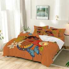 Load image into Gallery viewer, Bel Fanm Lakay Eight Piece Comforter Set