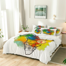 Load image into Gallery viewer, Afrik Kolore Lakay Eight Piece Comforter Set