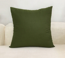 Load image into Gallery viewer, Toss Pillows - Olive Green