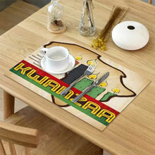 Load image into Gallery viewer, Kwanzaa Lakay Placemat Set (6)