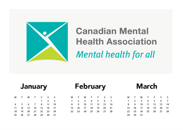 January–March: Canadian Mental Health Association