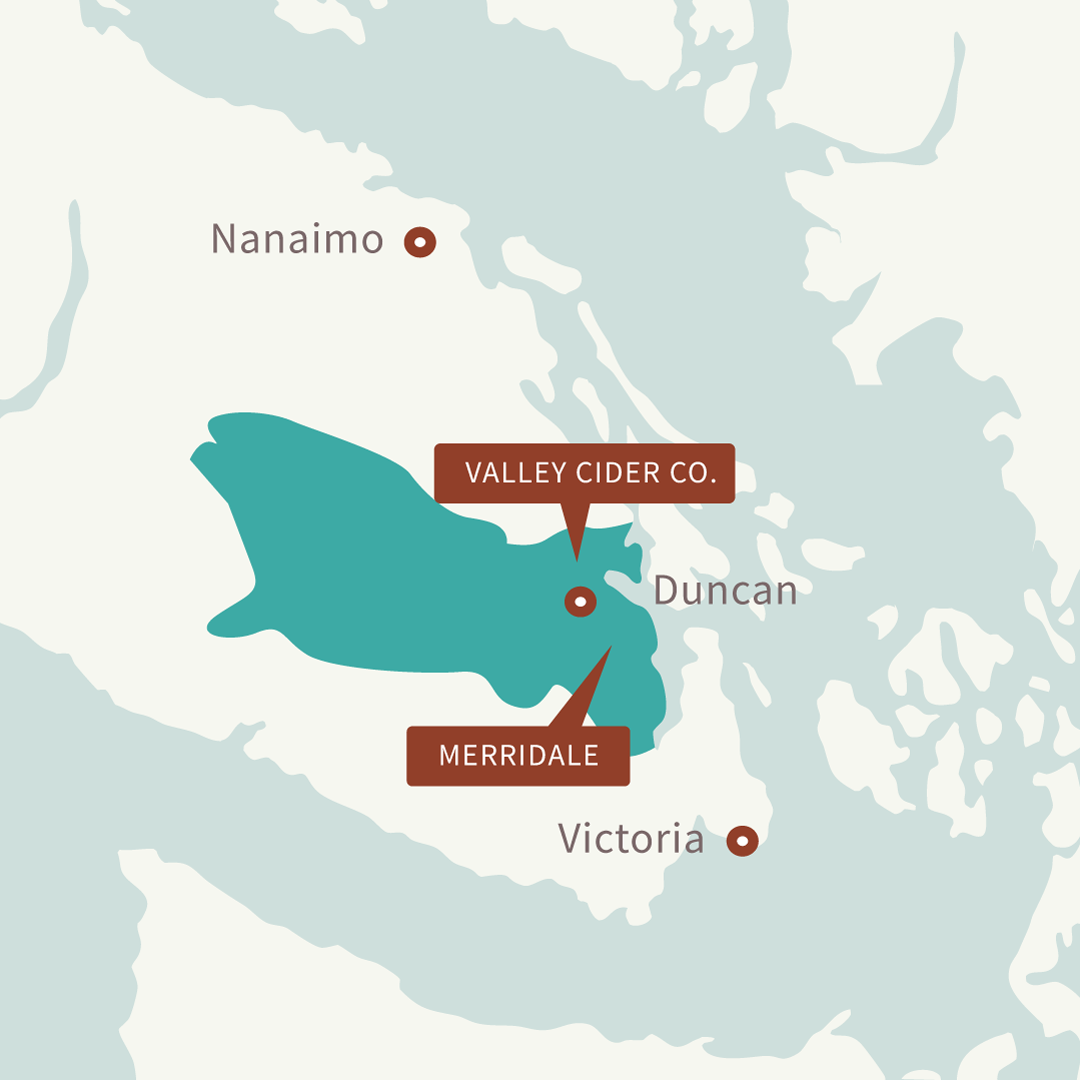 Cowichan Valley Map