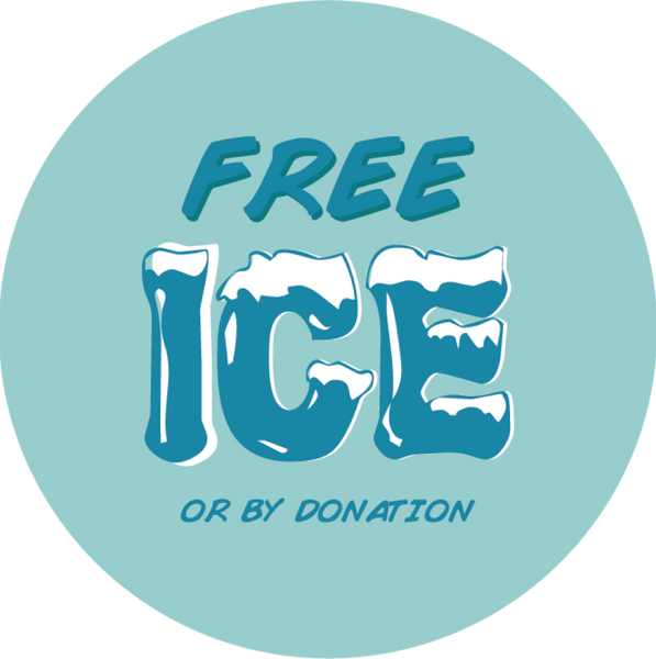 Free Ice or by donation