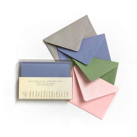 BUY 2 GET 1 - Succulent Collection Blank Card & Envelope Set