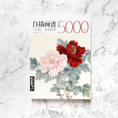 5000 Chinese Drawings of Flowers