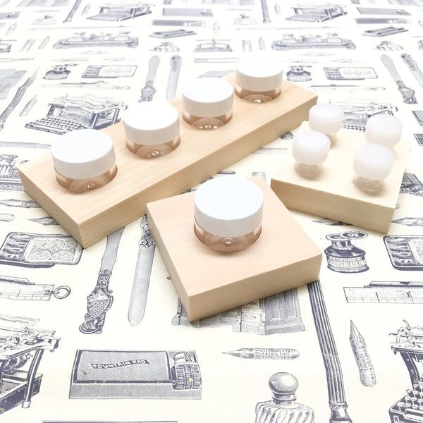 Small Dinky Dip, 4 Vials Square