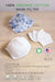 organic cotton handmade 3D cup shape face mask filter by Arcadia Designs