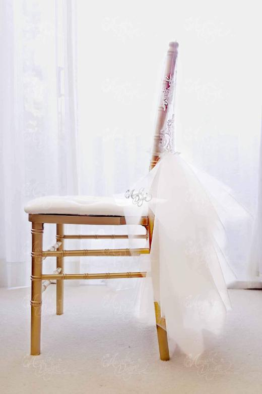 Pleasing Ballerina Tutu Luxury Bridal Chiavari Lace Chair Cover Machost Co Dining Chair Design Ideas Machostcouk