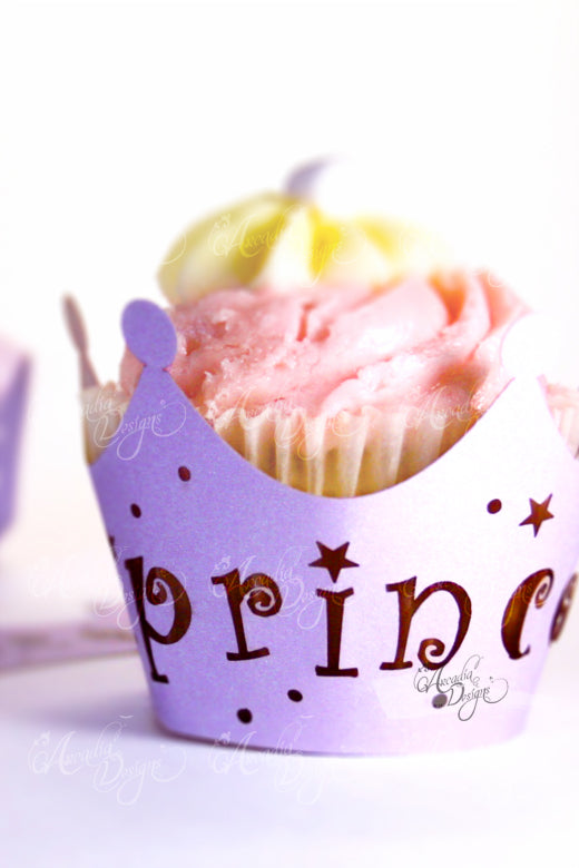 Princess Cupcake Wrappers