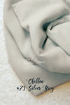 Silky Grey Chiffon Table Runner