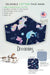 unicorn narwhal bunny dreaming organic cotton filter pocket face mask for girls by arcadia designs llc