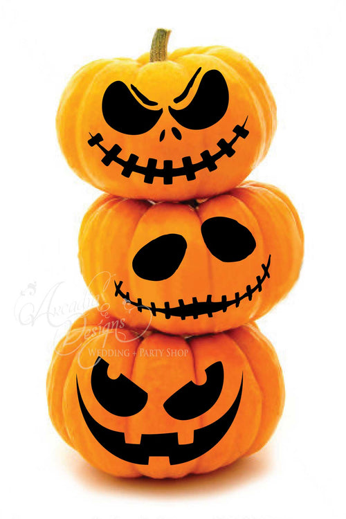 Halloween Jack O Lantern Carving Pattern