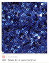 Royal Blue Glitz Sequin Fabric 3mm disc dark blue sequin fabric by yard arcadia designs