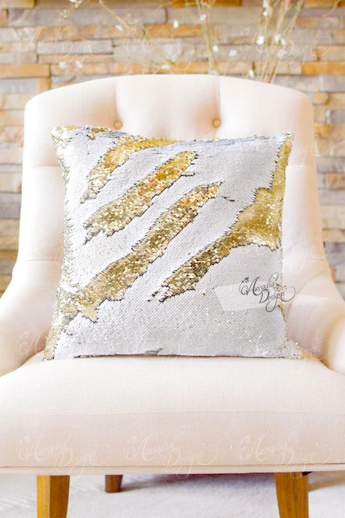 Luxury Color Changing Sequin Pillow Cover