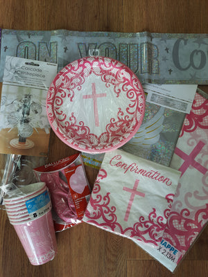 Confirmation Party Bundle Blue or Pink