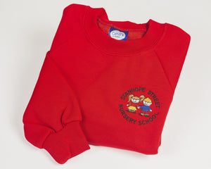 Stanhope Red Sweatshirt
