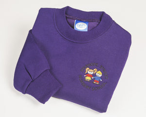 Stanhope Purple Sweatshirt