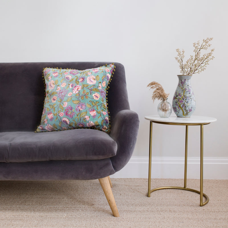 Ceylon Green Cushion