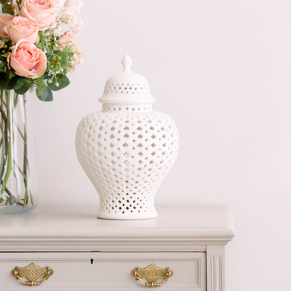 Lattice Ginger Jar